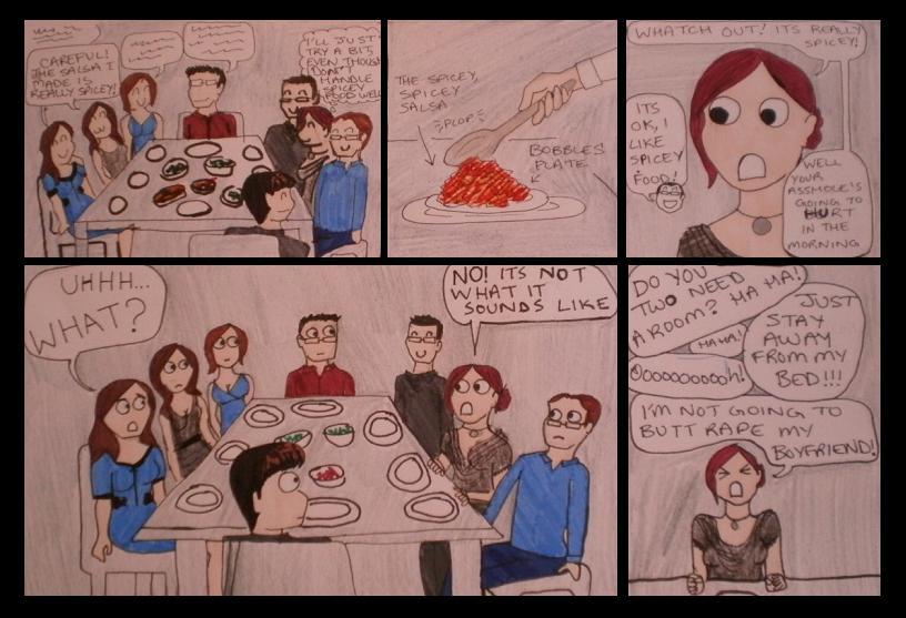 Appropriate Dinner Conversation